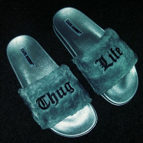 99148267c90 Fashion Nova Shoes - BRAND NEW FASHION NOVA ORDERED CAPE ROBBIN SLIDES